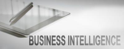 BUSINESS INTELLIGENCE pojęcia Biznesowa technologia cyfrowa Obraz Stock