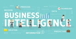 Business Intelligence pojęcie Obrazy Royalty Free