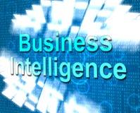 Business Intelligence przedstawienia Znają Jak I Biz Zdjęcia Stock