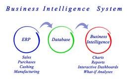 Business Intelligence system Obrazy Stock