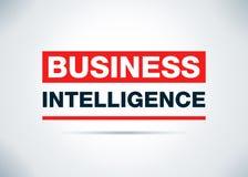 Business Intelligence tła Abstrakcjonistyczny Płaski projekt Illustrati ilustracji