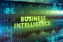 Business intelligence technology concept Royalty Free Stock Photo