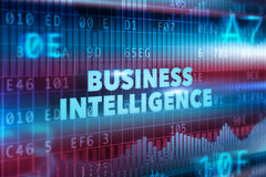 Business intelligence technology concept Stock Photo