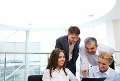 Business interaction Royalty Free Stock Photos