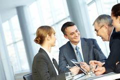Business interaction Royalty Free Stock Photography