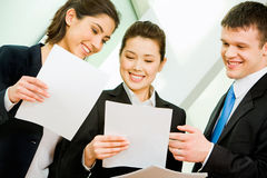 Business interaction Stock Photos