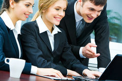Business interaction Royalty Free Stock Images