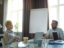 Business interaction Stock Image