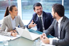 Business interaction Stock Photography