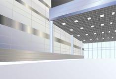Business interior vector royalty free illustration