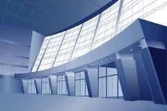 Business interior vector door stock illustration