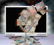 Business on internet Stock Photo
