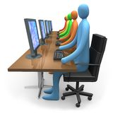 Business - Internet Access Stock Image