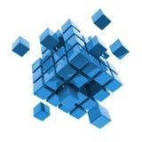 Business, internet, communication concept block Royalty Free Stock Photo