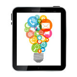 Business Internet for Different Electronic Devices Stock Photography