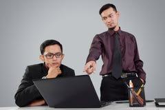 Business internship training Stock Photography