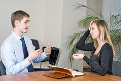 Business Interview Stock Images