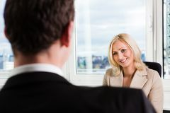 Business Interview Stock Photos