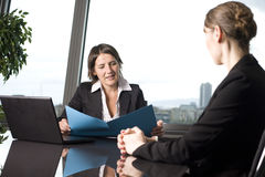 Business interview Royalty Free Stock Photo