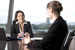 Business interview Stock Photography