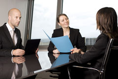 Business interview Royalty Free Stock Photography