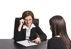 Business interview Royalty Free Stock Image