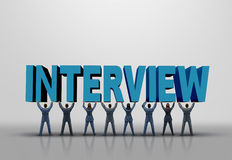 Business Interview Concept Royalty Free Stock Photography
