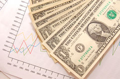 Business investment. A business financial investment report Royalty Free Stock Photography