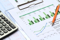 Business Investment Analysis stock photos