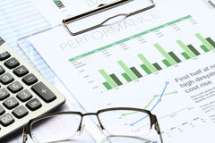 Business Investment Analysis Royalty Free Stock Photos