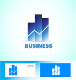 Business investment logo Stock Photography