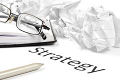Business or investment strategy concept Royalty Free Stock Image