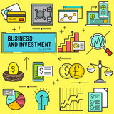 Business and Investment Vector Stock Images