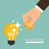 Business investors Stock Images