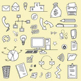 Business item set Royalty Free Stock Photography