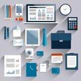 Business items set Stock Photos