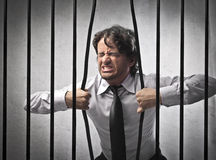 Business Jailed royalty free stock photo