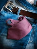 Business in jeans Stock Photography