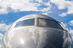 Business jet Stock Photography