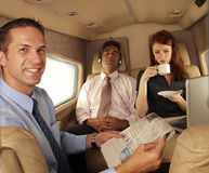 Business jet. Royalty Free Stock Image