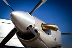 Business Jet. Close up of the business jet Stock Images