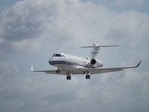 Business jet aircraft Stock Images