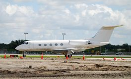 Business jet airplane Royalty Free Stock Photography