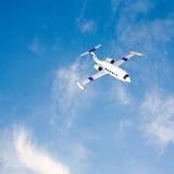 Business jet blue sky Stock Photos