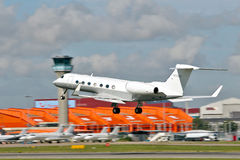 Business jet Gulfstream Royalty Free Stock Photography