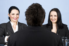 Business job interview Royalty Free Stock Photography
