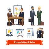 Business job interview, brainstorming Stock Photos