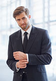 Business just got seriously stylish Royalty Free Stock Photos