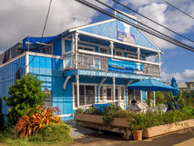 Business in Kapa`a Town Stock Images