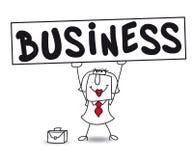 Business of karen stock image